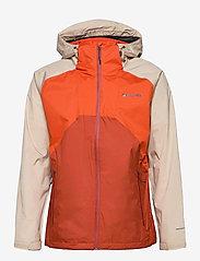 Rain Scape Jacket - BONFIRE, ANCIENT FOSSIL, DARK SIENNA