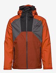 Columbia - Rain Scape Jacket - kurtki turystyczne - city grey, wild - 1