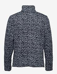 Columbia - M Chillin Fleece - mid layer jackets - collegiate navy scatter - 1