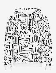 Columbia - M Columbia Logo™ Printed Hoodie - bluzy z kapturem - black, white ty - 0