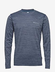 Zero Rules™ Long Sleeve Shirt - CARBON HEATHER