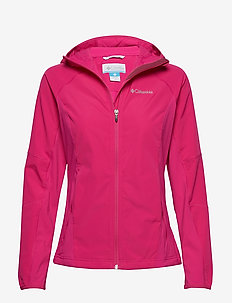 Sweet As™ Softshell Hoodie - HAUTE PINK