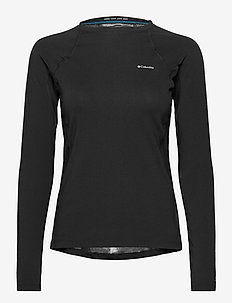 Midweight Stretch Long Sleeve Top - thermo ondershirts - black