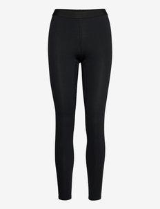 Midweight Stretch Tight - aluskihina kantavad püksid - black