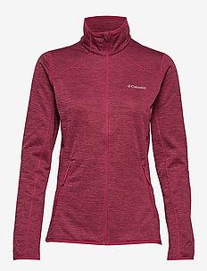 Sapphire Trail™ Fleece Jacket - WINE BERRY, HAU