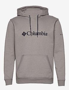 CSC Basic Logo™ II Hoodie - kapuzenpullover - columbia grey,