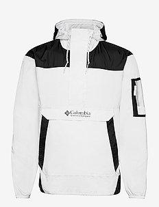 Challenger Windbreaker - anoraki - white, black