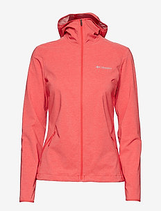 Heather Canyon™ Softshell Jacket - RED CORAL HEATH