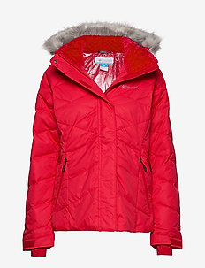 Lay D Down II Jacket - untuvatakit - red lily