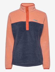 Benton Springs™ 1/2 Snap Pullover - fleece midlayer - nova pink, dark