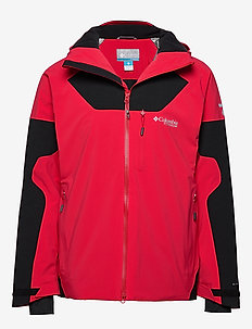 Powder Keg III Jacket - MOUNTAIN RED, BLACK
