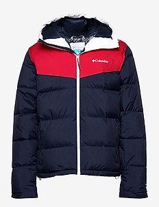 Iceline Ridge™ Jacket - ski jassen - collegiate navy, mountain red, white