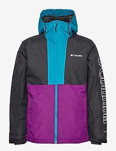Timberturner Jacket - kurtki narciarskie - plum, black, fj
