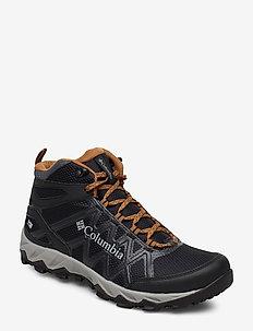 PEAKFREAK™ X2 MID OUTDRY™ - hiking/walking shoes - black, elk