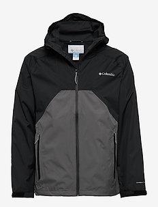 Rain Scape™ Jacket - outdoor & rain jackets - black, city gre