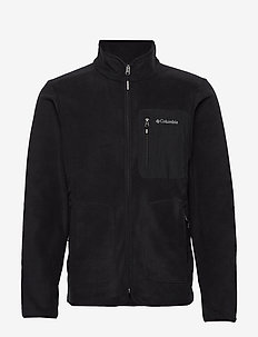 Exploration™ FZ Fleece - mittlere lage aus fleece - black