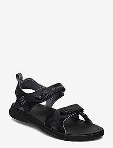 COLUMBIA™ 2 STRAP - hiking/walking shoes - black, ti grey