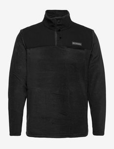 Cottonwood Park™ Half Snap - mittlere lage aus fleece - black