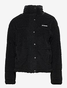 Columbia Lodge™ Baffled Sherpa Fleece - jakker og regnjakker - black