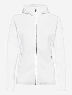 Roffe Ridge™ Full Zip Hooded - fleece - white