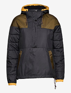 Columbia Lodge™ Pullover Jacket - sportjassen - black, olive gr