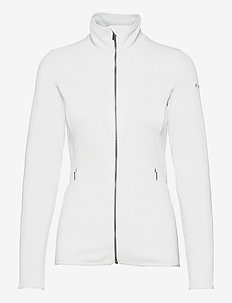 Roffe Ridge™ Full Zip Fleece - mid layer jackets - white