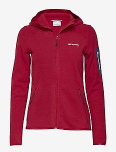 Outdoor Novelty™ Hooded Fleece - POMEGRANATE