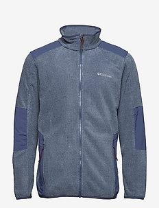 Tough Hiker™ Full Zip Fleece - DARK MOUNTAIN