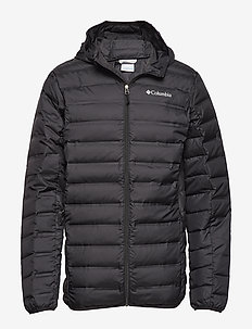 Lake 22™ Down Hooded Jacket - BLACK