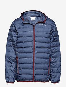 Lake 22™ Down Hooded Jacket - DARK MOUNTAIN