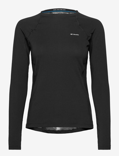 Midweight Stretch Long Sleeve Top - termo undertrøje - black