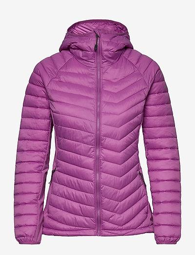 Powder Pass Hooded Jacket - kurtki sportowe - blossom pink