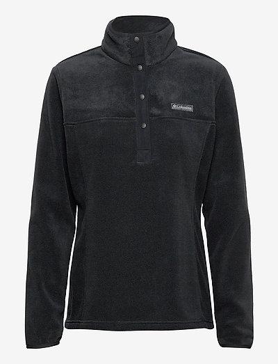 Benton Springs 1/2 Snap Pullover - fleece - black