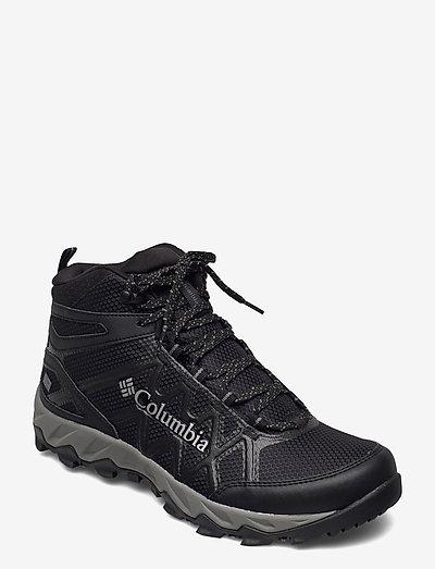 PEAKFREAK X2 MID OUTDRY - buty na wędrówki - black, dark pewter