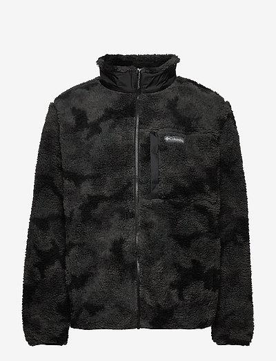 Winter Pass Print Fleece Full Zip - fleece - black camo