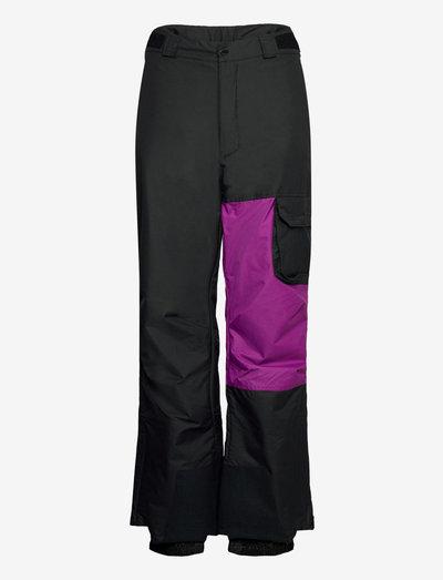 Hero Snow Pant - spodnie narciarskie - black, plum