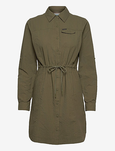 Silver Ridge Novelty Dress - tuniki - stone green