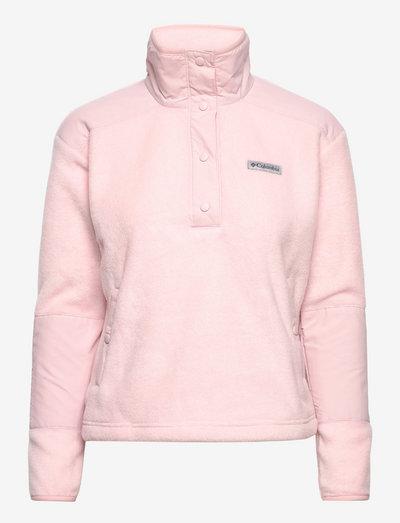 Benton Springs Crop Pullover - fleece - mineral pink