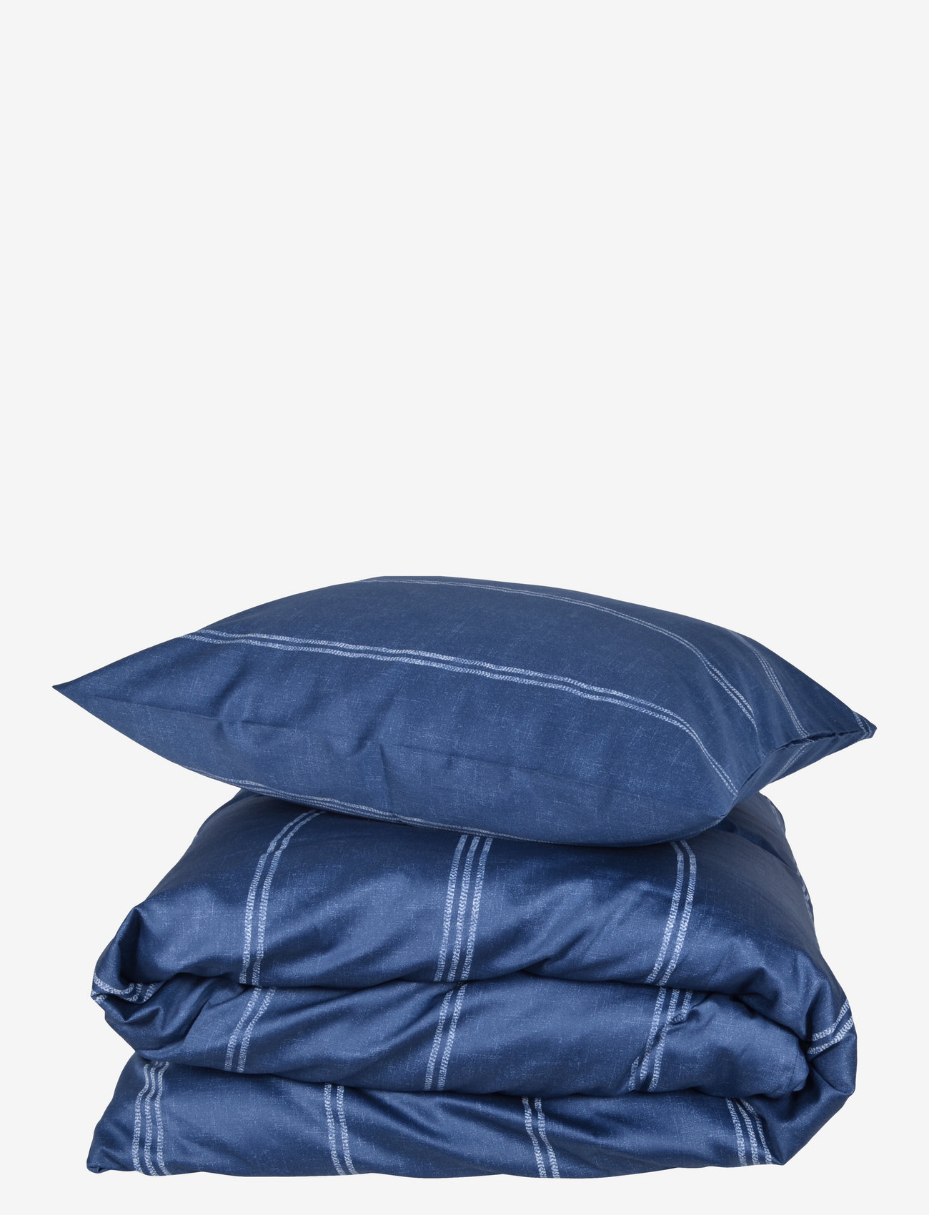 compliments - Raw Lane 140x220 cm - sengesæt - blue - 0