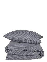 Raw Stripe 200x220 cm - GREY