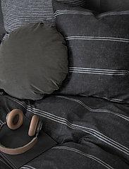 compliments - Raw Lane 140x220 cm - sengesæt - dark grey - 1