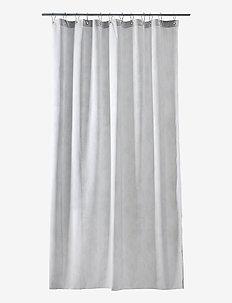 Pine Shower curtain w/eyelets - douche gordijnen - light grey