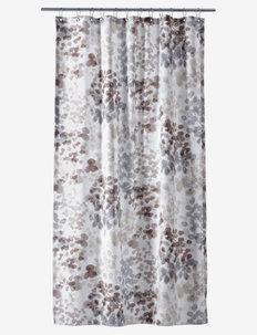 Blossom Shower curtain w/eyelets - badeforhæng - brown