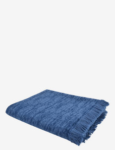 Rossy plaid 130x170 - blankets - blue