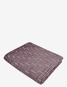 Rifly 130x170 cm - plaider & sengetæpper - purple