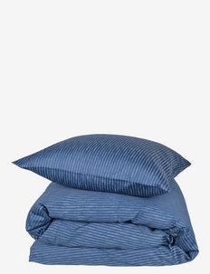 Raw Stripe 200x220 cm - sengesæt - blue