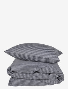 Raw Stripe 200x220 cm - sengesæt - grey