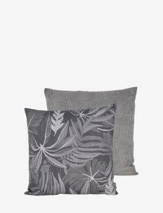 Honolulu 50x50 cm 2-pack - kussenovertrekken - dark grey