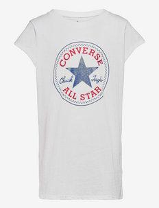 CNVG TIMELESS CHUCK PATCH TEE - kortærmede t-shirts - white