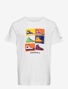 CNVB POP ART SNEAKER TEE - kortærmede t-shirts - white